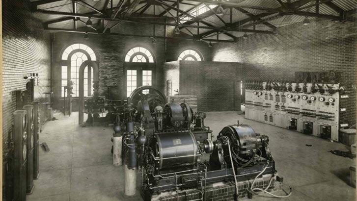 The Power House, ca. 1916.