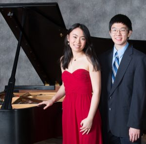 WSE students Stephanie Cai and Winston Wu won the Hopkins Symphony Orchestra concerto competition