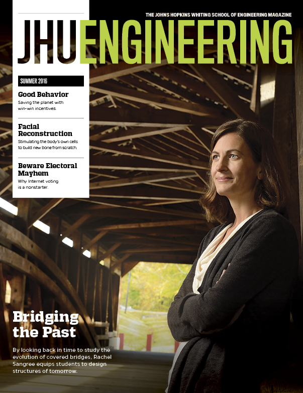 Summer 2016 issue of JHU Engineering
