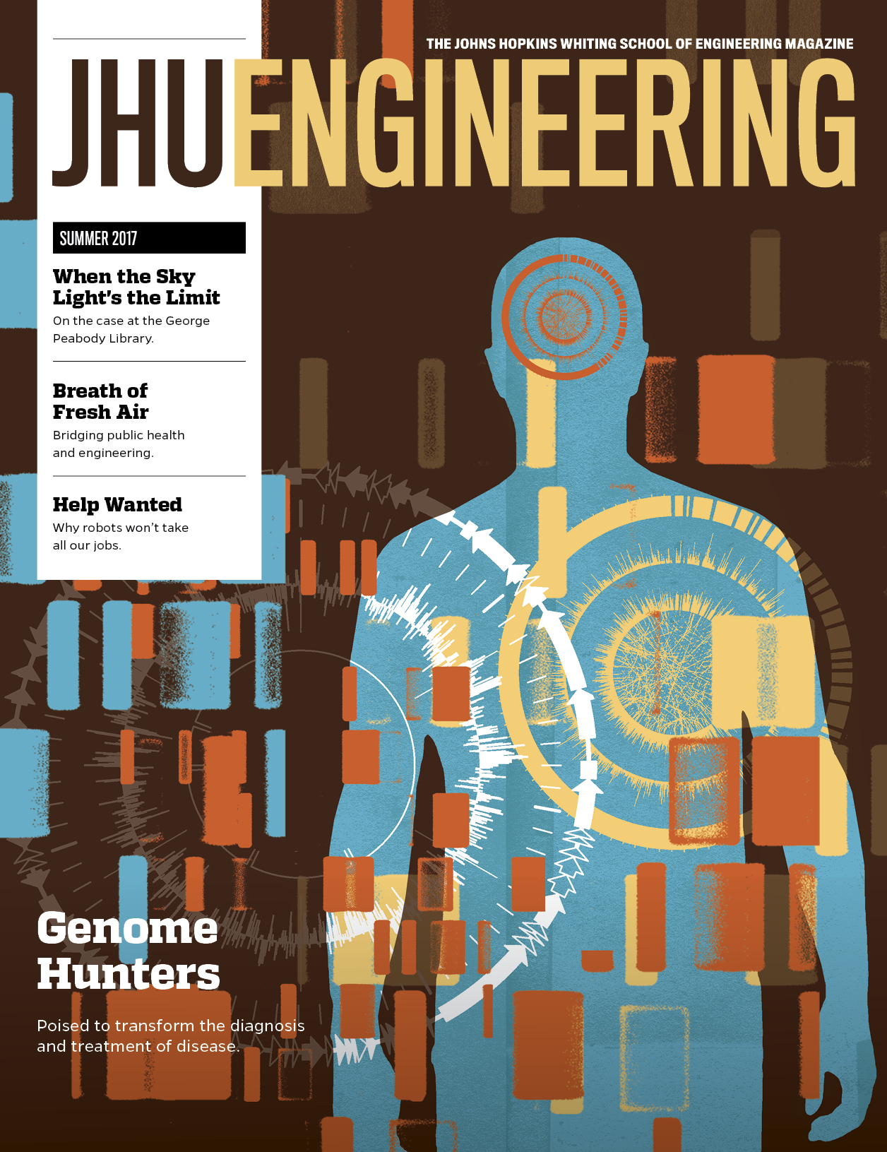 JHU Engineering Summer 2017 magazine cover