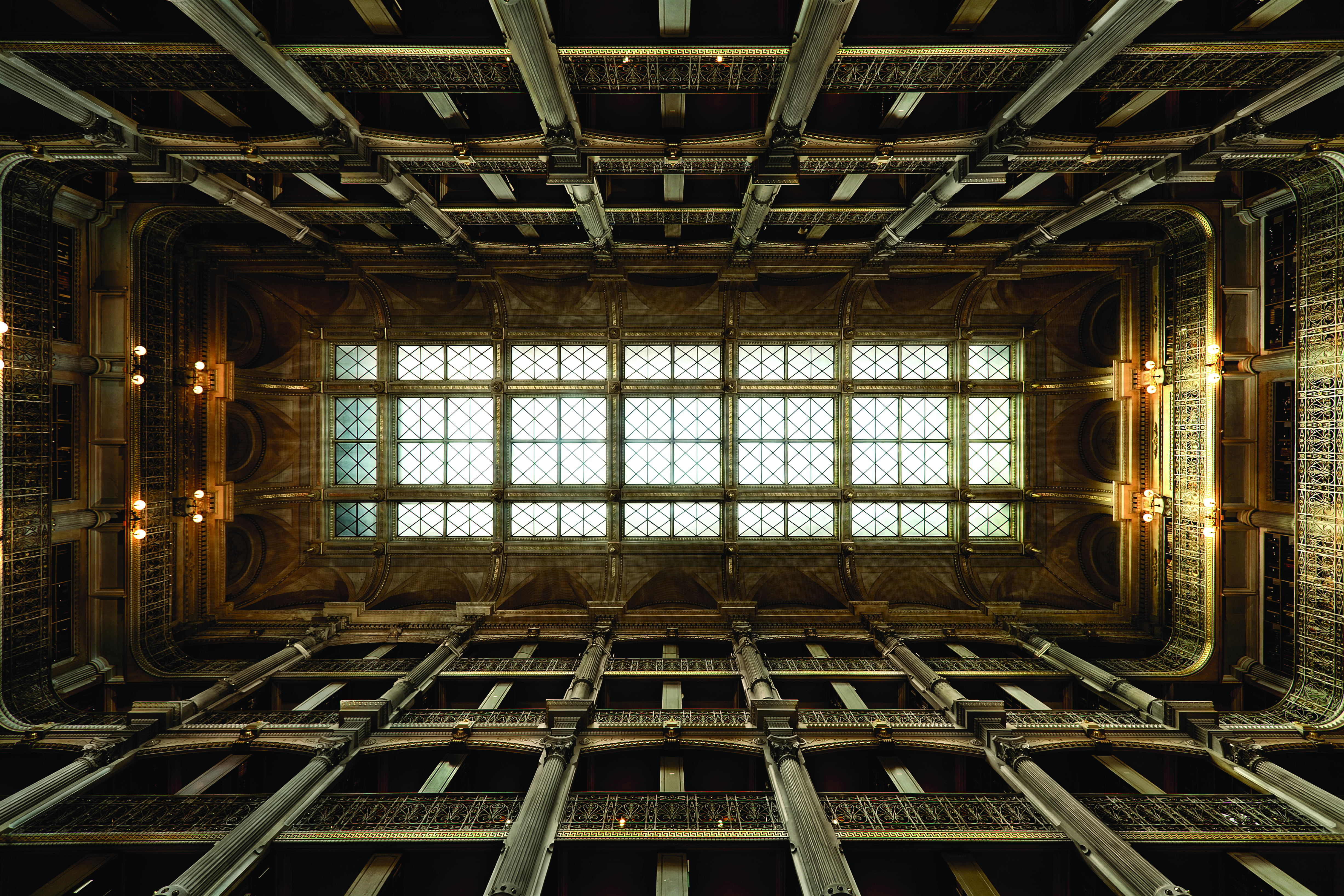 Skylight Of George Peabody Library