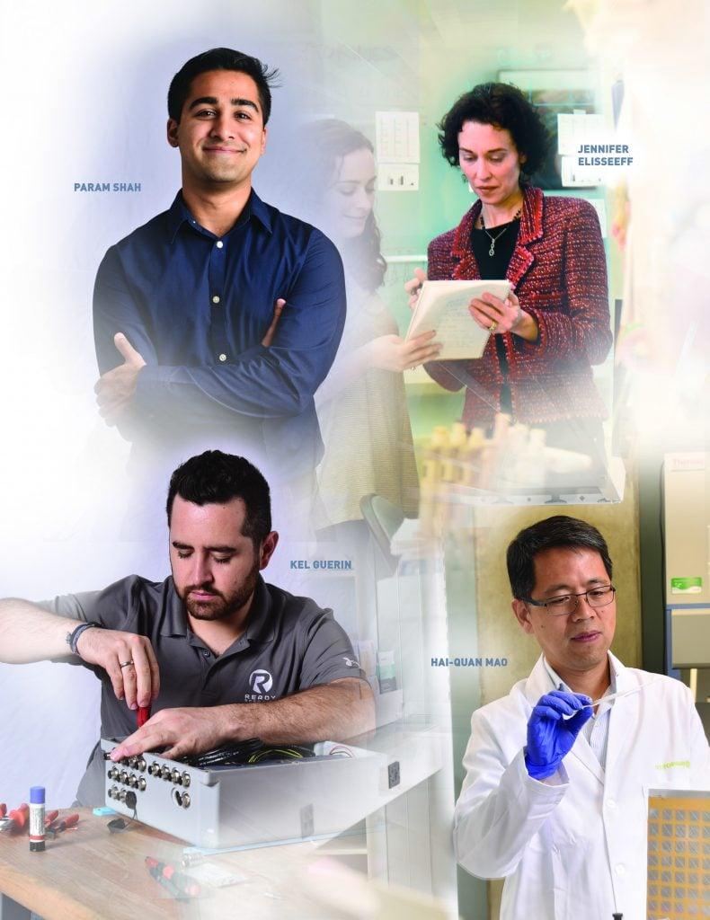 Param Shah, Jennifer Elisseeff, Hai-Quan Mao, and Kel Guerin