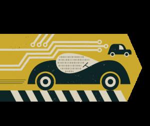 Autonomous vehicle illustration