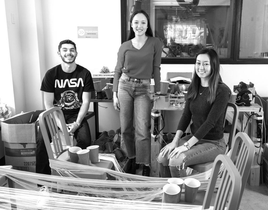 Julian Garcia, Lauren Choi, and Jasmine Blust