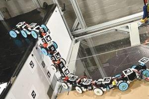 Snake robot in Li Mechanical Engineering Lab
