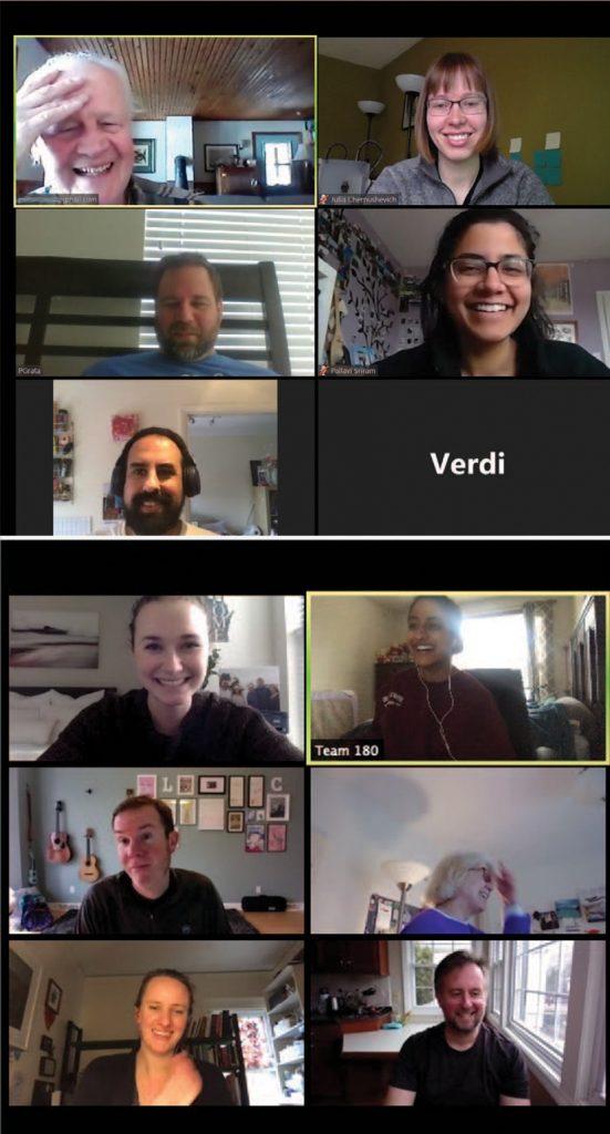 COVID-19 design challenge participants