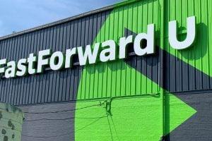 Exterior of FastForward U building