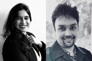 Ayushi Mishra and Utkarsh Singh